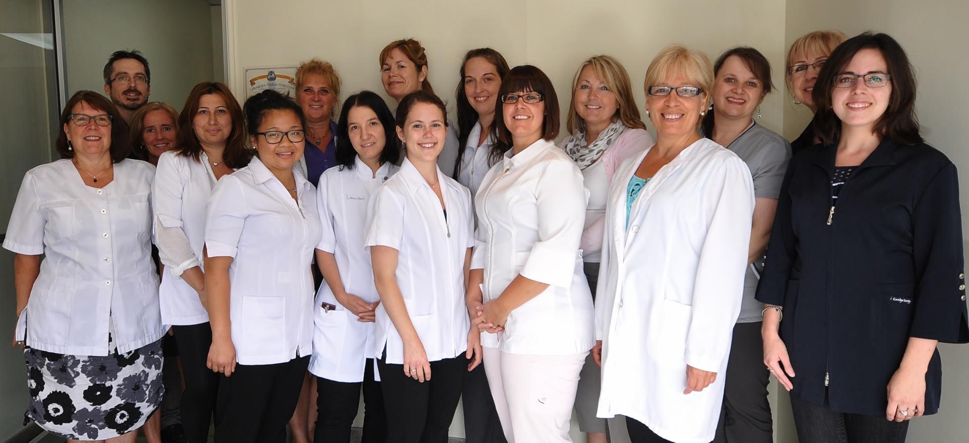 Équipe Centre dentaire Vincent Lapointe à Chambly